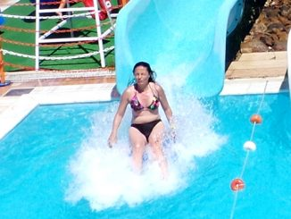 Marmaris Atlantis Water Park Free Fall Water Slide