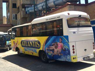 Marmaris Atlantis Water Park Free Shuttle Service