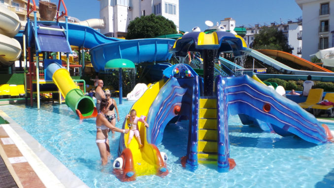 Marmaris Atlantis Water Park Kids Pool