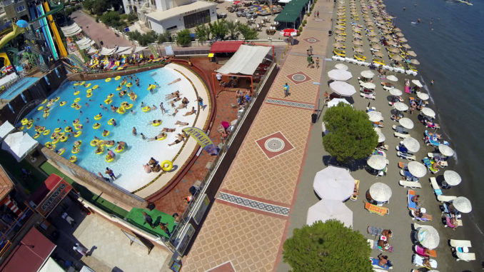 Marmaris AtlantisWater Park Beach
