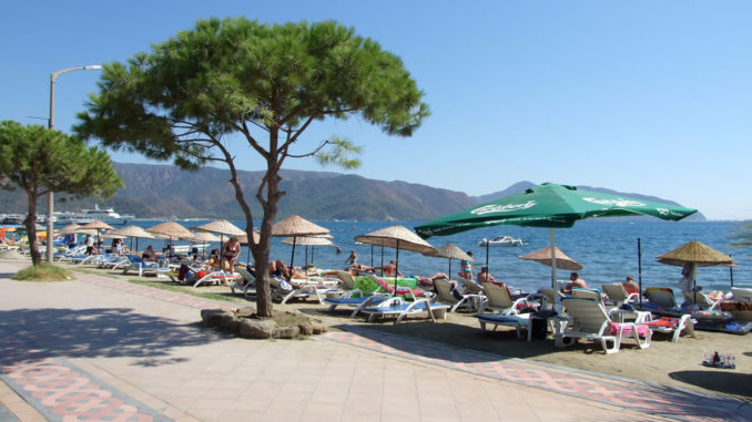 Marmaris Atlantis Water Park Private Beach