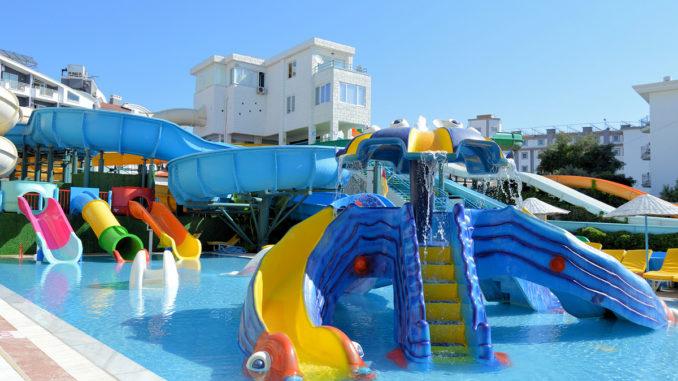 Marmaris Water Park Kids Slides